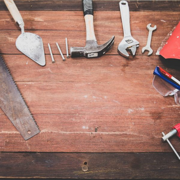 Canva - Flat Lay Photography of Hand Tools